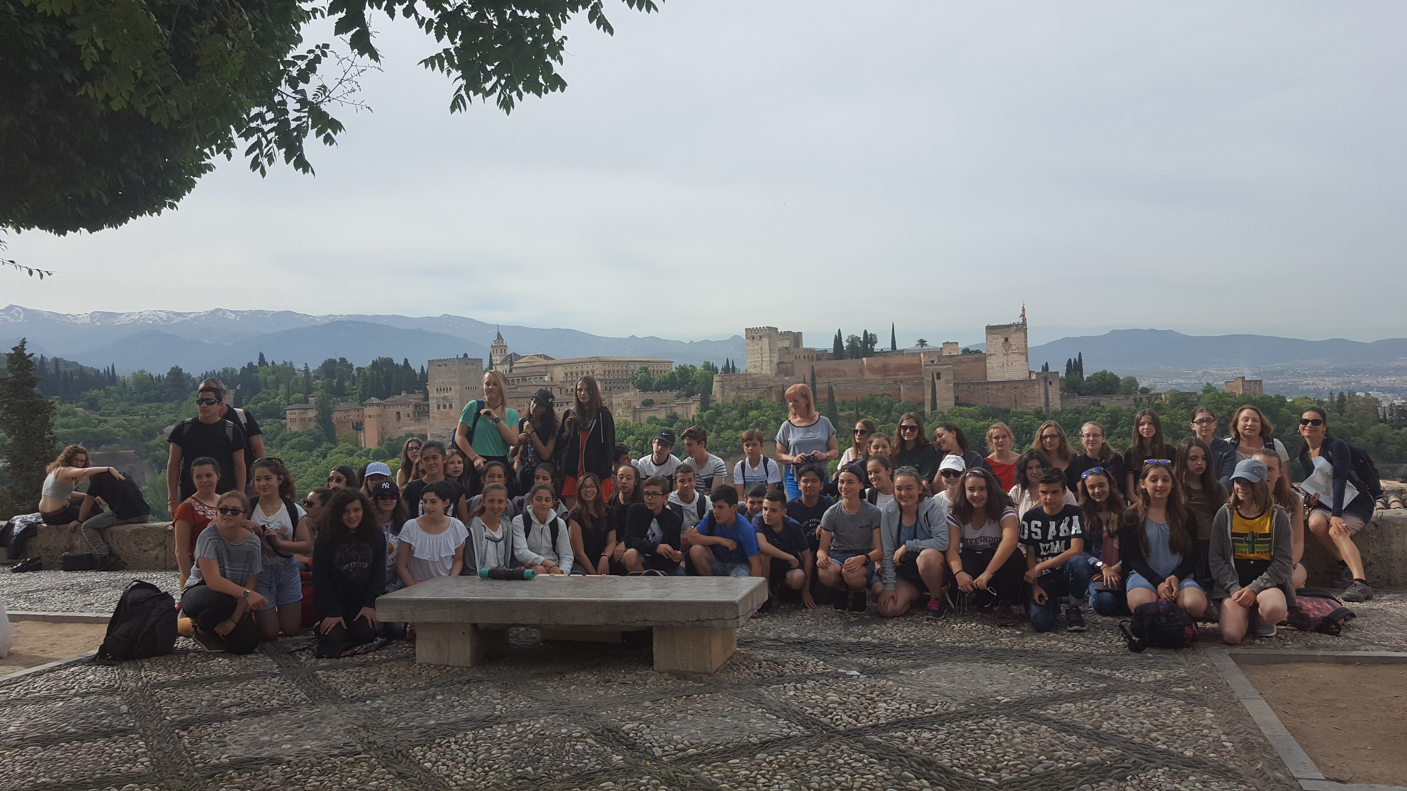 Voyage en espagne l albacin blog saint louis de gonzague for Sejour complet espagne